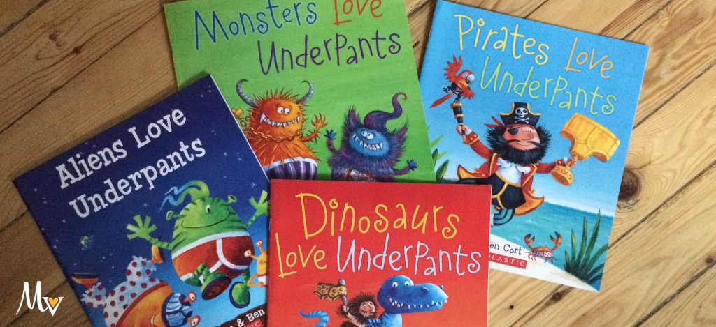 Dinosaurs love Underpants book review