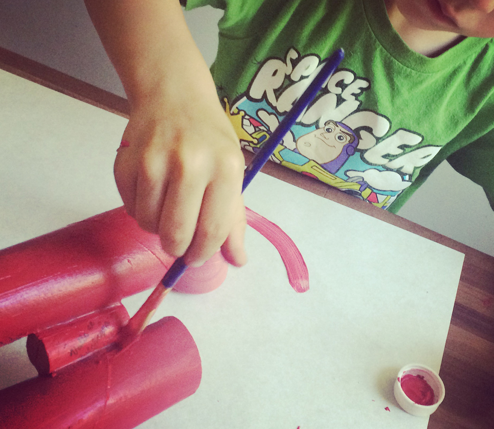 Binocular Toddler Craft
