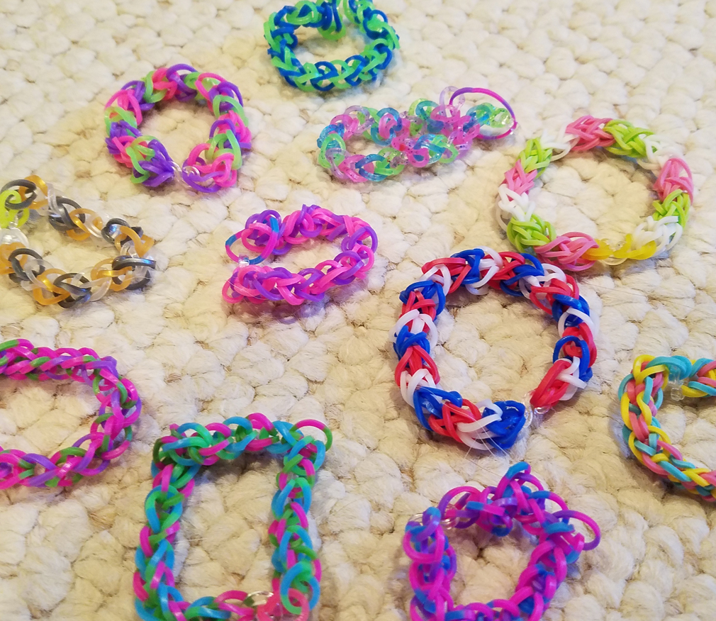 Beautiful Rainbow Loom Bracelets
