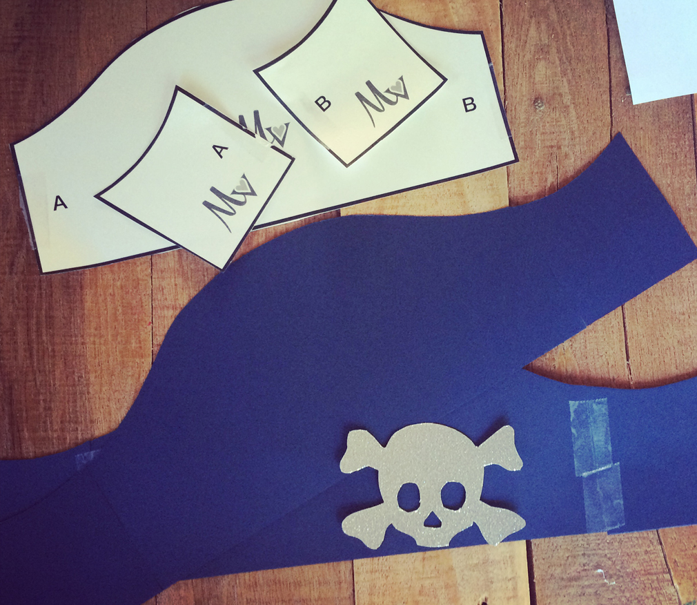 Pirate Hat Toddler Craft