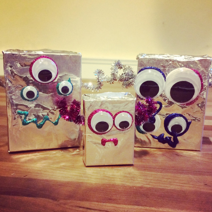 Tinfoil Robots