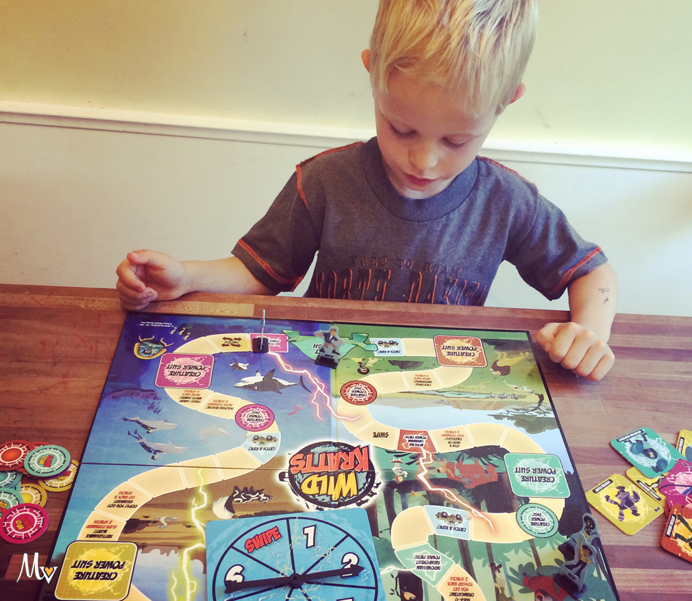 Board games with kids. themamavillage.com