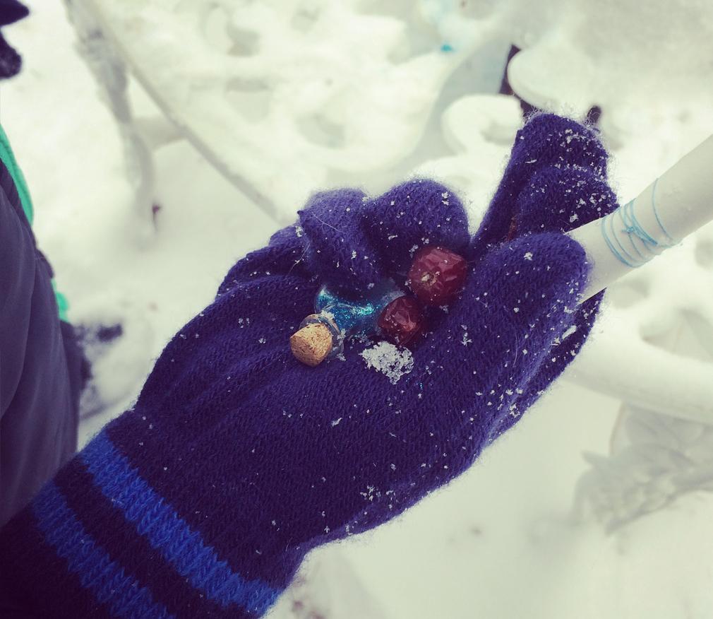 Winter Fairy Scavenger Hunt