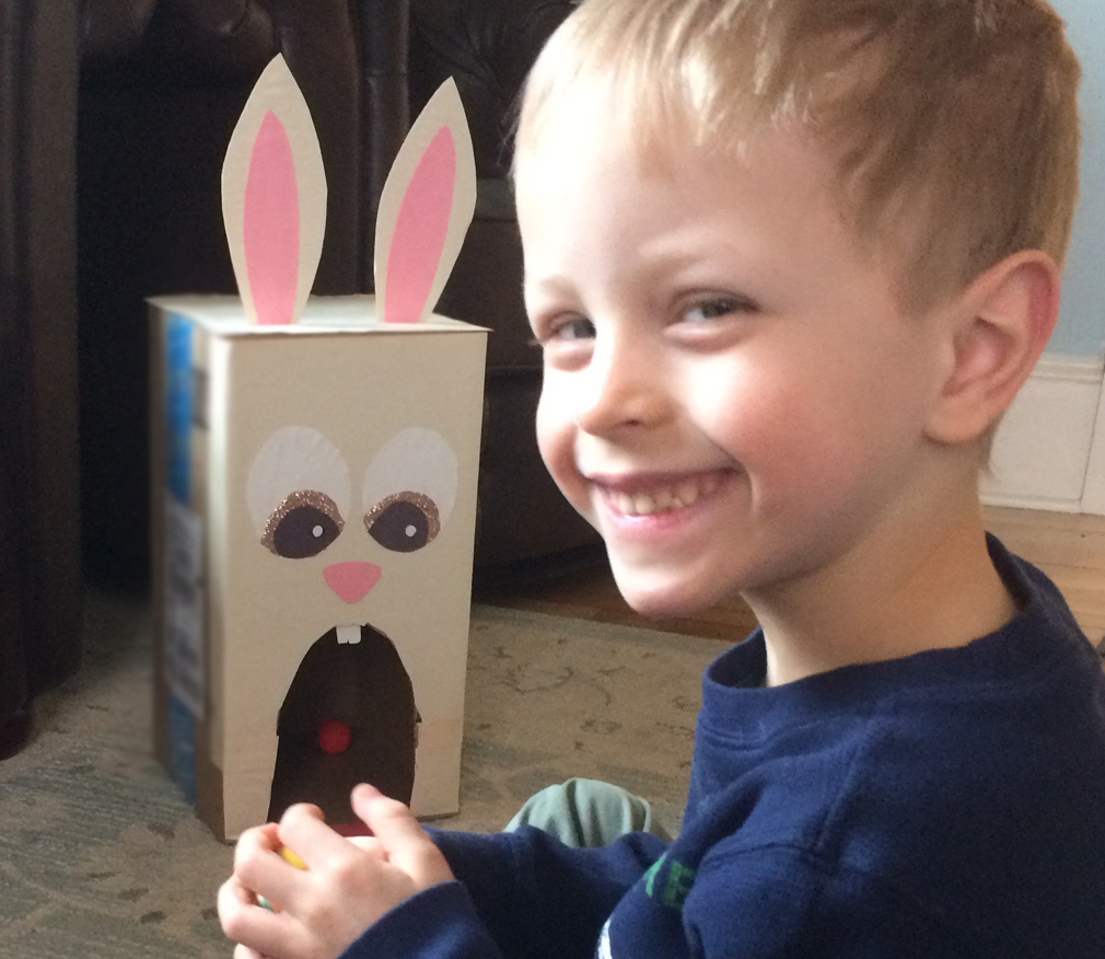 Bunny Bowling Activity for Kids. Easter Activity. themamavillage.com