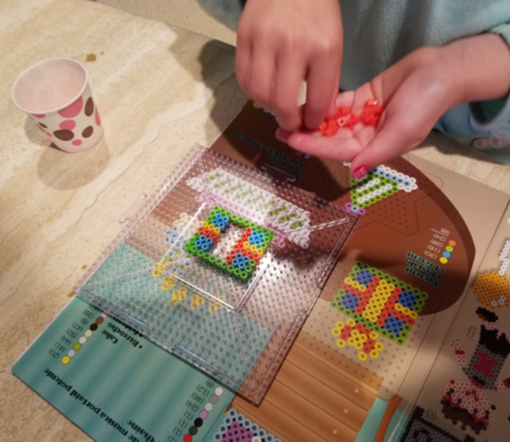 Perler with Kids