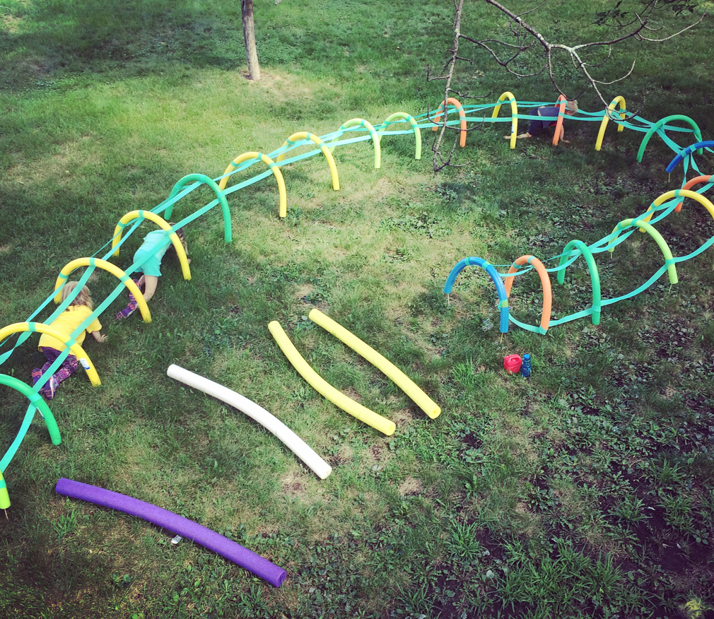 Pool Noodle Obstacle Course The Mama Village