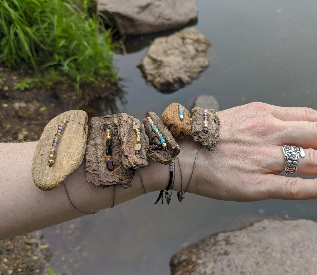 Driftwood Jewelry DIY themamavillage.com